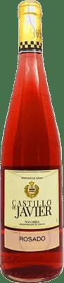5,95 € Envío gratis | Vino rosado Vinícola Navarra Castillo de Javier Joven D.O. Navarra Navarra España Garnacha Botella 75 cl