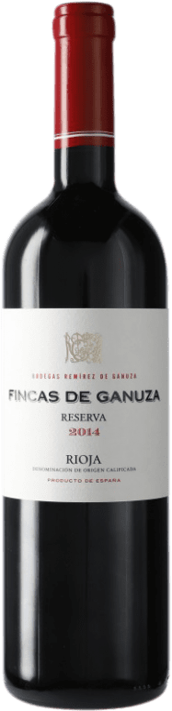 28,95 € Free Shipping | Red wine Remírez de Ganuza Fincas de Ganuza Reserva D.O.Ca. Rioja The Rioja Spain Bottle 75 cl