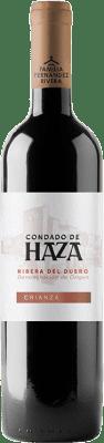 13,95 € Free Shipping | Red wine Condado de Haza Crianza D.O. Ribera del Duero Castilla y León Spain Tempranillo Bottle 75 cl