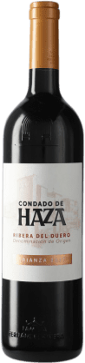 11,95 € Envío gratis | Vino tinto Condado de Haza Crianza D.O. Ribera del Duero Castilla y León España Tempranillo Botella 75 cl