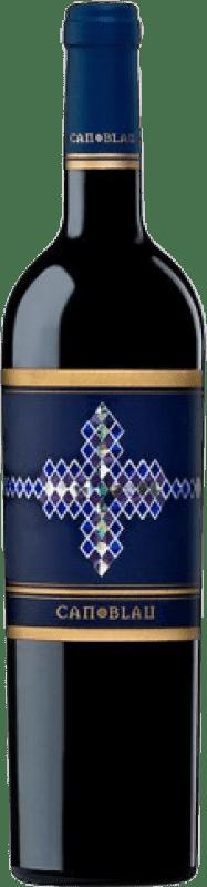 9,95 € Envío gratis | Vino tinto Can Blau Negre Crianza D.O. Montsant Cataluña España Botella 75 cl