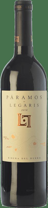 18,95 € Envoi gratuit | Vin rouge Legaris Páramos D.O. Ribera del Duero Castille et Leon Espagne Tempranillo Bouteille 75 cl