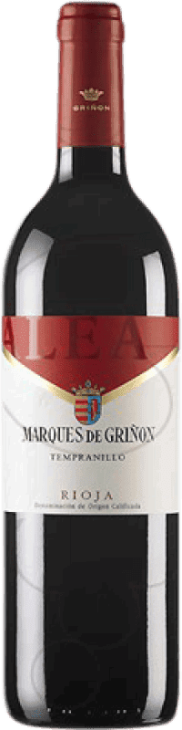 4,95 € Free Shipping | Red wine Marqués de Griñón Alea Joven D.O.Ca. Rioja The Rioja Spain Tempranillo Bottle 75 cl