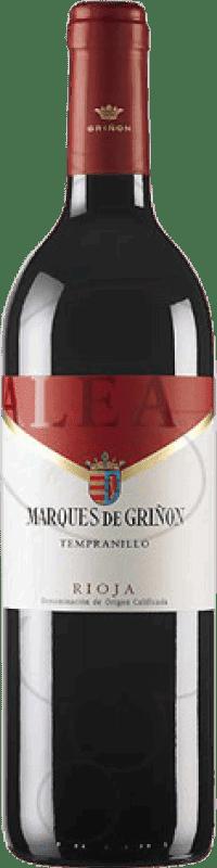 4,95 € Envoi gratuit | Vin rouge Marqués de Griñón Alea Joven D.O.Ca. Rioja La Rioja Espagne Tempranillo Bouteille 75 cl