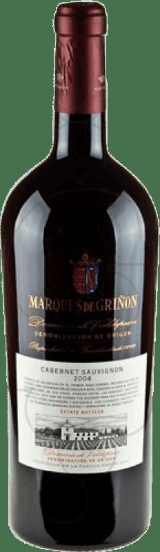 45,95 € Envío gratis | Vino tinto Marqués de Griñón D.O.P. Vino de Pago Dominio de Valdepusa Castilla la Mancha y Madrid España Cabernet Sauvignon Botella Mágnum 1,5 L