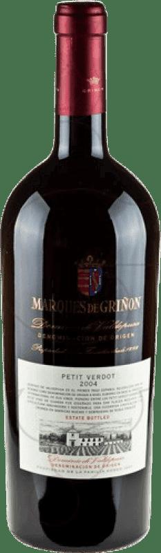 44,95 € Envío gratis | Vino tinto Marqués de Griñón D.O.P. Vino de Pago Dominio de Valdepusa Castilla la Mancha y Madrid España Petit Verdot Botella Mágnum 1,5 L