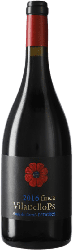 10,95 € Free Shipping | Red wine Finca Viladellops Crianza D.O. Penedès Catalonia Spain Syrah, Grenache Bottle 75 cl