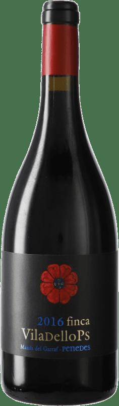 9,95 € Envoi gratuit | Vin rouge Finca Viladellops Crianza D.O. Penedès Catalogne Espagne Syrah, Grenache Bouteille 75 cl