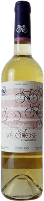 9,95 € Free Shipping | Rosé wine Tianna Negre Vélo Rosé Joven D.O. Binissalem Balearic Islands Spain Mantonegro Bottle 75 cl