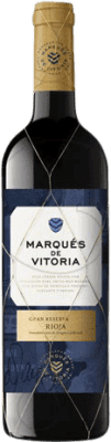 21,95 € Free Shipping | Red wine Marqués de Vitoria Gran Reserva D.O.Ca. Rioja The Rioja Spain Tempranillo Bottle 75 cl