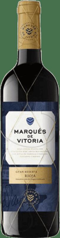17,95 € Free Shipping | Red wine Marqués de Vitoria Gran Reserva D.O.Ca. Rioja The Rioja Spain Tempranillo Bottle 75 cl