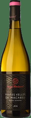 16,95 € Kostenloser Versand | Weißwein Domènech Crianza D.O. Montsant Katalonien Spanien Macabeo Flasche 75 cl