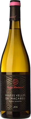 19,95 € Free Shipping | White wine Domènech Crianza D.O. Montsant Catalonia Spain Macabeo Bottle 75 cl