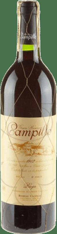32,95 € Free Shipping | Red wine Campillo Gran Reserva D.O.Ca. Rioja The Rioja Spain Tempranillo Bottle 75 cl