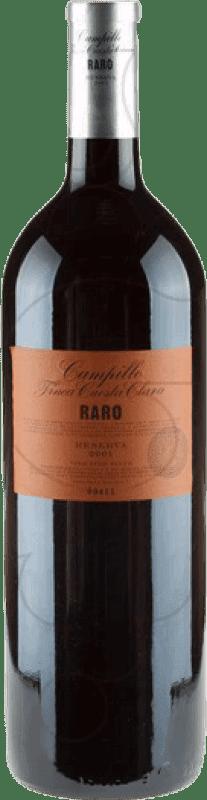 65,95 € Free Shipping | Red wine Campillo Raro D.O.Ca. Rioja The Rioja Spain Tempranillo Magnum Bottle 1,5 L