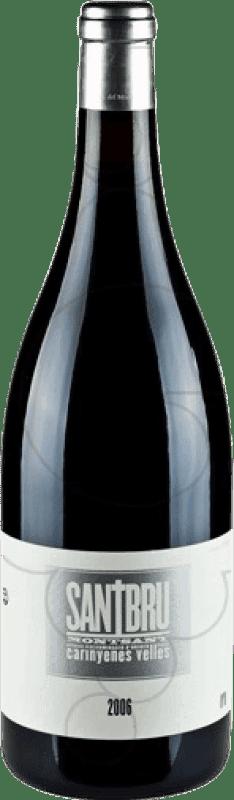 38,95 € Kostenloser Versand | Rotwein Portal del Montsant Santbru D.O. Montsant Katalonien Spanien Syrah, Grenache, Mazuelo, Carignan Magnum-Flasche 1,5 L