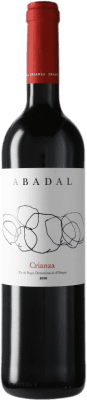 12,95 € Free Shipping | Red wine Masies d'Avinyó Abadal Crianza D.O. Pla de Bages Catalonia Spain Merlot, Cabernet Sauvignon Bottle 75 cl