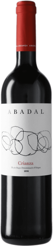 9,95 € Free Shipping | Red wine Masies d'Avinyó Abadal Crianza D.O. Pla de Bages Catalonia Spain Merlot, Cabernet Sauvignon Bottle 75 cl