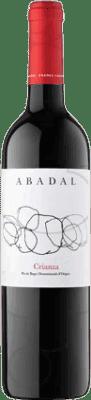 6,95 € Envío gratis | Vino tinto Masies d'Avinyó Abadal Crianza D.O. Pla de Bages Cataluña España Merlot, Cabernet Sauvignon Media Botella 50 cl