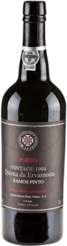 53,95 € Free Shipping | Fortified wine Ramos Pinto Quinta Ervamoira Oporto 2004 I.G. Porto Portugal Tempranillo, Touriga Franca, Touriga Nacional, Tinta Amarela, Tinta Cão, Tinta Barroca Bottle 75 cl