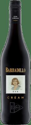 8,95 € Spedizione Gratuita | Vino fortificato Barbadillo Eva Cream D.O. Jerez-Xérès-Sherry Andalucía y Extremadura Spagna Palomino Fino Bottiglia 75 cl