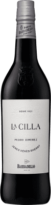 13,95 € Free Shipping | Fortified wine Barbadillo La Cilla D.O. Jerez-Xérès-Sherry Andalucía y Extremadura Spain Pedro Ximénez Bottle 75 cl | Thousands of wine lovers trust us to get the best price guarantee, free shipping always and hassle-free shopping and returns.