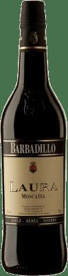 7,95 € Kostenloser Versand | Verstärkter Wein Barbadillo Laura D.O. Jerez-Xérès-Sherry Andalucía y Extremadura Spanien Muscat Flasche 75 cl