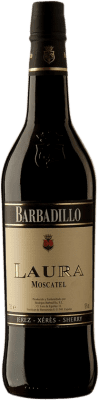 9,95 € Envio grátis | Vinho fortificado Barbadillo Laura D.O. Jerez-Xérès-Sherry Andalucía y Extremadura Espanha Mascate Garrafa 75 cl