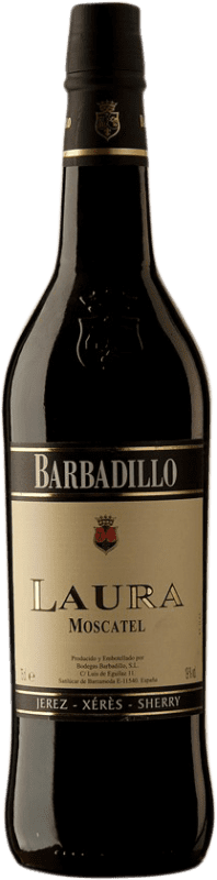 8,95 € Free Shipping | Fortified wine Barbadillo Laura D.O. Jerez-Xérès-Sherry Andalucía y Extremadura Spain Muscatel Bottle 75 cl