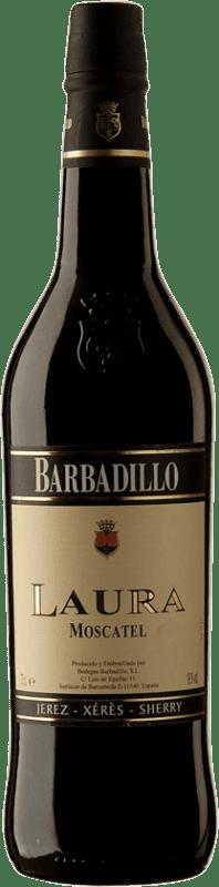 7,95 € Envoi gratuit   Vin fortifié Barbadillo Laura D.O. Jerez-Xérès-Sherry Andalucía y Extremadura Espagne Muscat Bouteille 75 cl