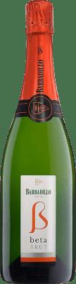 5,95 € Kostenloser Versand | Weißer Sekt Barbadillo Brut Joven Andalucía y Extremadura Spanien Palomino Fino, Chardonnay Flasche 75 cl