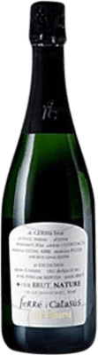 8,95 € Free Shipping | White sparkling Ferré i Catasús Brut Nature Reserva D.O. Cava Catalonia Spain Macabeo, Xarel·lo, Parellada Bottle 75 cl