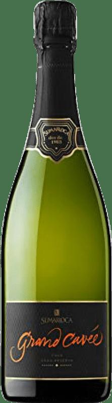 16,95 € Free Shipping | White sparkling Sumarroca Cuvée Brut Nature Gran Reserva D.O. Cava Catalonia Spain Chardonnay, Parellada Bottle 75 cl