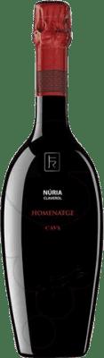 33,95 € Kostenloser Versand | Weißer Sekt Sumarroca Nuria Claverol Brut Gran Reserva D.O. Cava Katalonien Spanien Xarel·lo, Chardonnay, Parellada Flasche 75 cl