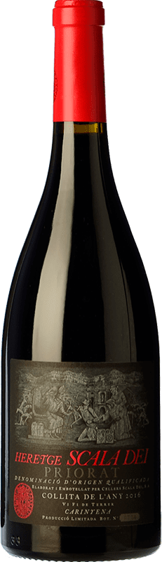 49,95 € Free Shipping | Red wine Scala Dei Heretge D.O.Ca. Priorat Catalonia Spain Bottle 75 cl