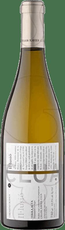 9,95 € Free Shipping | White wine Xavier Clua Il·lusió Joven D.O. Terra Alta Catalonia Spain Grenache White Bottle 75 cl