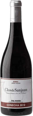 15,95 € Free Shipping | Red wine Valsangiacomo Clos de Sanjuan Viñas Viejas Crianza D.O. Utiel-Requena Levante Spain Bobal Bottle 75 cl