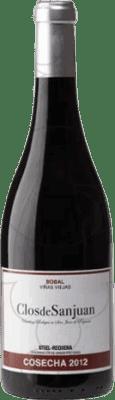 13,95 € Envío gratis | Vino tinto Valsangiacomo Clos de Sanjuan Viñas Viejas Crianza D.O. Utiel-Requena Levante España Bobal Botella 75 cl