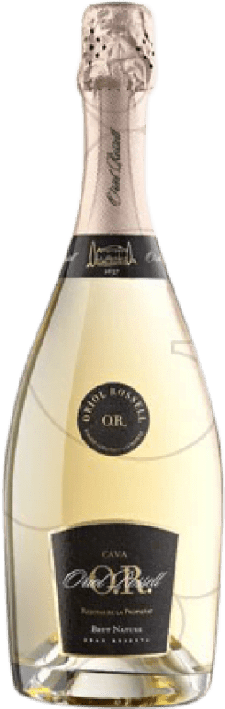 27,95 € Free Shipping | White sparkling Oriol Rossell Propietat Brut Nature Reserva D.O. Cava Catalonia Spain Macabeo, Xarel·lo, Parellada Bottle 75 cl