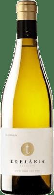 22,95 € Envío gratis | Vino blanco Edetària Crianza D.O. Terra Alta Cataluña España Garnacha Blanca, Macabeo Botella 75 cl