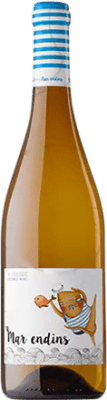 8,95 € Free Shipping | White wine Oliveda Mar Endins Joven D.O. Empordà Catalonia Spain Grenache White Bottle 75 cl