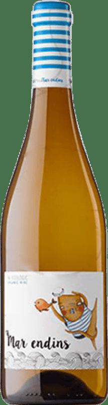 7,95 € Free Shipping | White wine Oliveda Mar Endins Joven D.O. Empordà Catalonia Spain Grenache White Bottle 75 cl