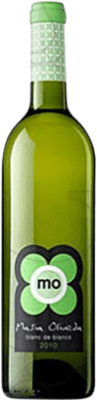 4,95 € Free Shipping | White wine Oliveda Masía Joven D.O. Empordà Catalonia Spain Macabeo, Chardonnay Bottle 75 cl