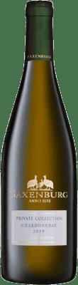 16,95 € Kostenloser Versand | Weißwein Saxenburg Private Collection Crianza Südafrika Chardonnay Flasche 75 cl