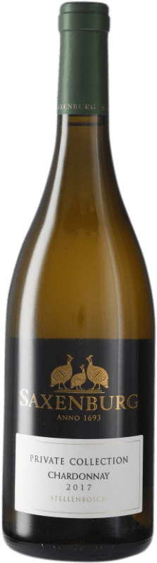 16,95 € Free Shipping | White wine Saxenburg Private Collection Crianza South Africa Chardonnay Bottle 75 cl