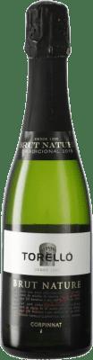 8,95 € Kostenloser Versand | Weißer Sekt Torelló Brut Natur Gran Reserva D.O. Cava Katalonien Spanien Macabeo, Xarel·lo, Parellada Halbe Flasche 37 cl