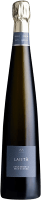 17,95 € Free Shipping | White sparkling Alta Alella Mirgin Laieta Brut Nature Gran Reserva D.O. Cava Catalonia Spain Pinot Black, Chardonnay Bottle 75 cl