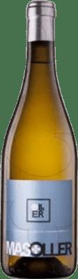 24,95 € Free Shipping | White wine Mas Oller Mar Joven D.O. Empordà Catalonia Spain Malvasía, Picapoll Magnum Bottle 1,5 L