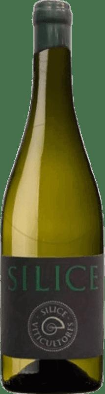 19,95 € Envío gratis | Vino blanco Sílice Crianza Galicia España Godello, Palomino Fino, Treixadura Botella 75 cl