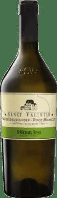 25,95 € Free Shipping | White wine St. Michael-Eppan Sanct Valentin Crianza Otras D.O.C. Italia Italy Pinot White Bottle 75 cl